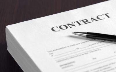 Overeenkomst van opdracht, aanneming van werk en de arbeidsovereenkomst